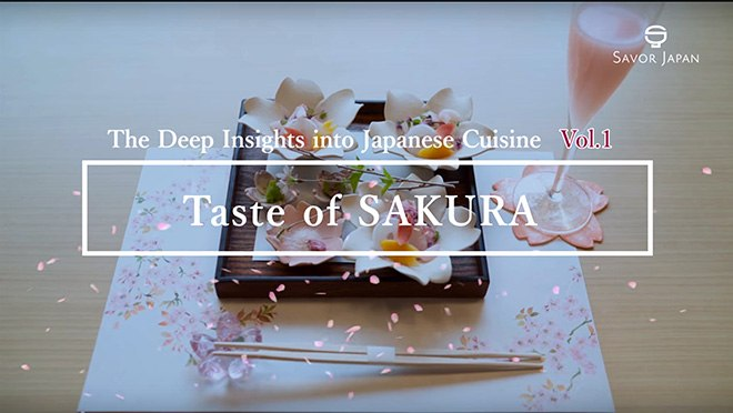 Taste of SAKURA - The Deep Insitghts into Japanese Cuisine Vol.1