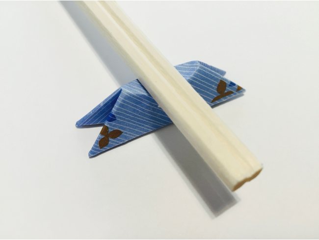 Origami Chopstick Rest: Mount Fuji Instructions in 8 Easy Steps