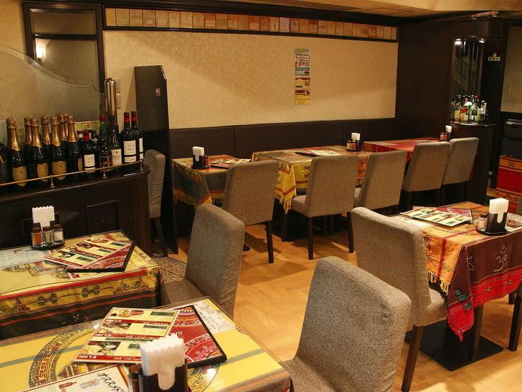 Indian Restaurants Half Way