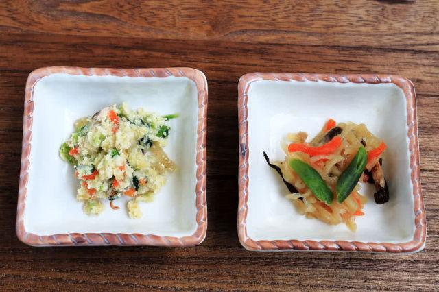 63339827 - japanese food. vegetarian dishes.