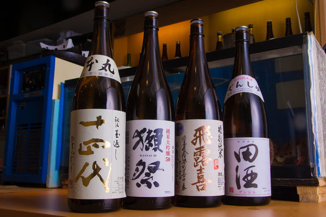 Restaurants where you can drink delicious sake.
