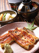 Gotemba Eki Chikaku Unagi no Hirota_Special shirayaki broiled eel (two fillets) with wasabi soy sauce