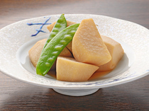 Kisoji_Taro boiled in soy sauce with vinegar
