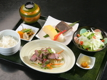 "Gochisodokoro Shohachi_Enjoy the ever-changing menu of our seasonal ""Daily Special Lunch"""