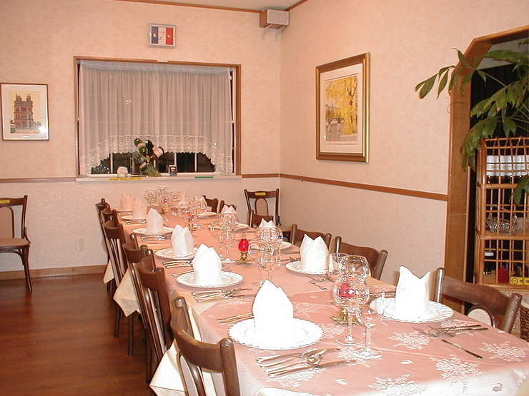 French Local Restaurant SHI ZORZE_Inside view
