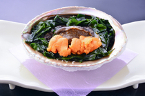 Kawajin Main Store_Shiogama Abalone Grill, from our seafood menu