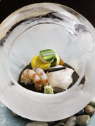 Aoyama Gato_Season's sashimi, made with carefully selected seasonal fresh fish