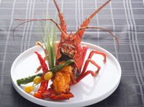 Kacho_Fresh Ise-ebi lobster!