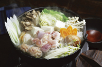 Kushiyaki Shamo Nabe Chobe_Shamo Nabe Free Range Chicken Course with all you can drink set. Only 5500JPY. *(min 3 people or more)
