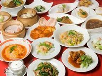 Chinese Restaurant China Papa_All-you-can-eat spread (50 dishes)