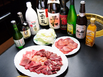 "Yakiniku Heiwa_The ""All-you-can-drink Course"" can be ordered on the same day, starting from two persons or more."