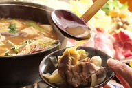 Kantaro - boar meat hot pot, horse meat dish, Aigamo duck hot pot - the taste of Inadani, Shinshu