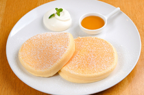 PANCAKE ROOM_[Classic Pancake] with a special whipped cream