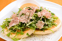 PANCAKE ROOM_[Cured Ham & Padano Cheese Pancake] as a healthy meal