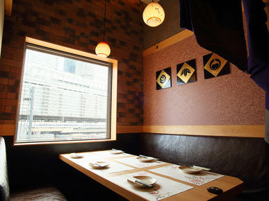 Hideaway Private Rooms Specialized Restaurant of Chicken Wing Karaage with Secret Recipe and Authentic Yakitori Torishin Meieki branch_Inside view