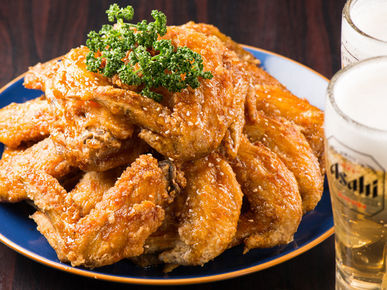Hideaway Private Rooms Specialized Restaurant of Chicken Wing Karaage with Secret Recipe and Authentic Yakitori Torishin Meieki branch_Cuisine