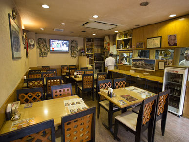 India & Nepal Restaurant Sansar Shinjuku_Inside view