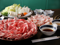 Yakiniku Shabu Shabu no Sarao_All you can eat shabu-shabu