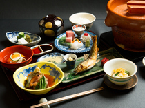 Teramachi Yoshikura_Exclusive Hitosara Offer-Banquet-style Cuisine, a reasonable-priced serving of Kyoto cuisine