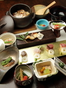 Shunsai Oguraya_Japanese-style course featuring seasonal ingredients brought in every month