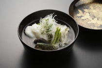 "Ginza Koju_Our ""Owan (small bowls of soup)"" are packed with seasonal flavors"