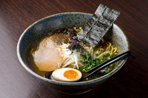 "Ramen Sapporo Ichiryuuan_Using specially selected soy sauce and the concentrated flavor of the fruits of the sea, ""New shoyu ramen noodles"""