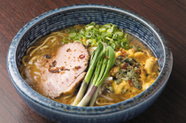 "Ramen Sapporo Ichiryuuan_Using specially selected ingredients from Hokkaido, ""Revitalizing miso ramen noodles"""
