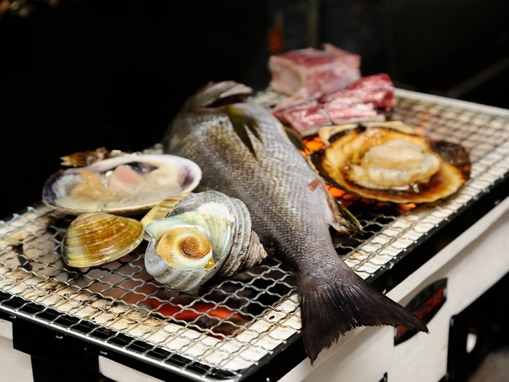 Private room Flame-grilled Seafood UMISEN-YAMASEN