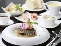 BISTRO KANZO_[Rouge Lunch Fish Course] The deliciousness of seasonal fish from the Sea of Japan, all on one plate