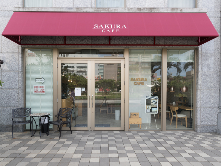 SAKURA CAFE_Outside view