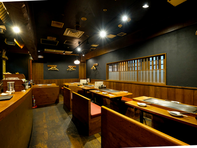 Teppanyaki En Sky Bldg. branch_Inside view