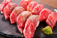 All-You-Can-Eat 10 Kinds of Sushi with Lightly-Seared Wagyu Beef - MEAT Yoshida - Susukino Ekimae branch