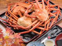 Oshokuji-dokoro Kaigan_Our specialty! [All-You-Can-Eat Red Snow Crab Caught in This Area].