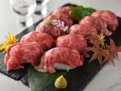 All-You-Can-Eat Lightly-Seared Meat Sushi x Meat Bar BRUNO Nagoya Station branch_Cuisine