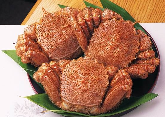 Kegani (hairy crab or horsehair crab)