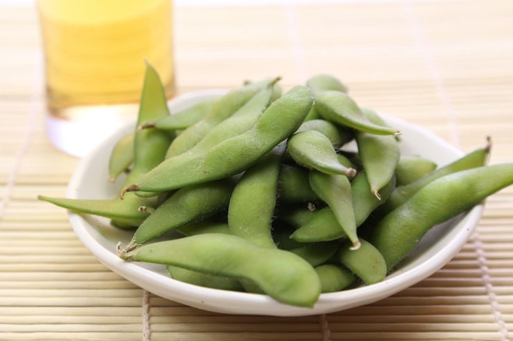 Edamame. The humble bean that won the world's heart.