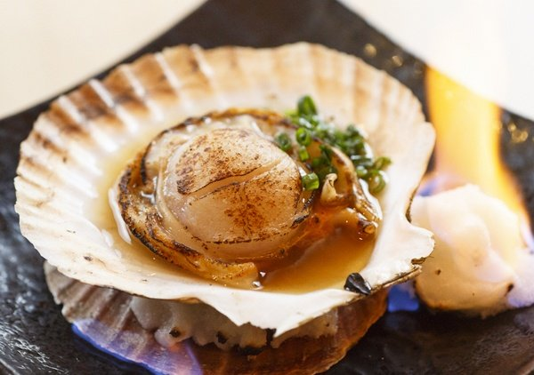 Scallops. The jewels of the sea.