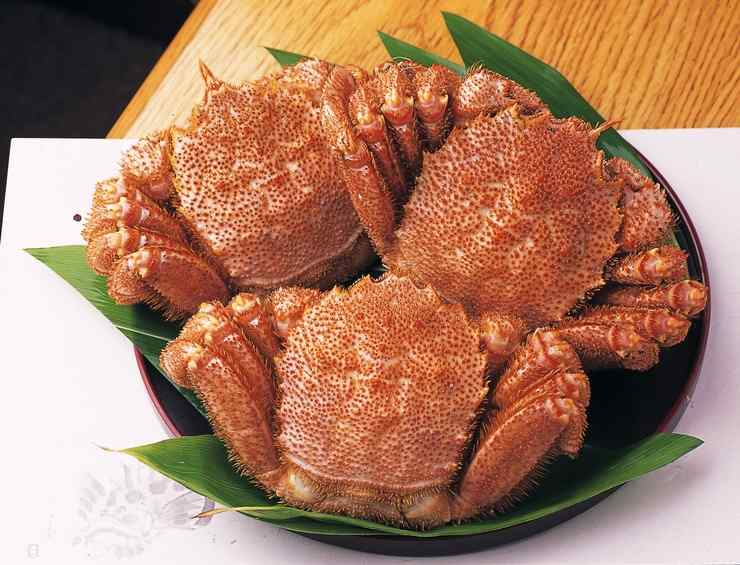 Calling all crab lovers! Have you had the pleasure of eating Japan's kegani?