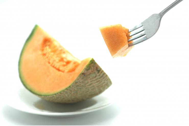 The fruit with a juicy price tag. Melon.