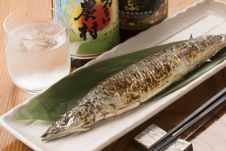 Sanma.The fish of Autumn.