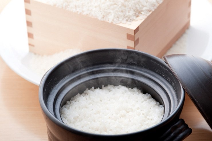 Rice is the staple food in Japan.