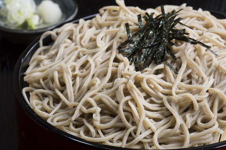 Slurp your soba like a Japanese and feel the joy.